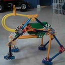 easy Knex quadruped walker
