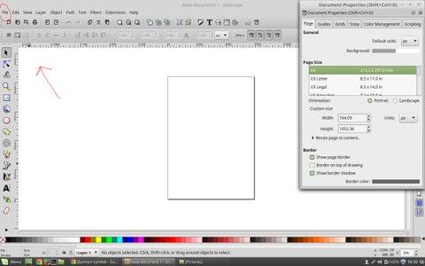 Setting Up Inkscape