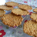 Oat Tuiles (Crispy Cookies) - Easy Recipe