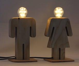 Soulmates Lamp