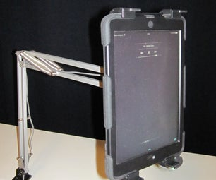 IkeaHack: Tertial IPad Holder
