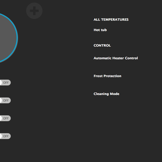 Hottub / Pool Controller  Web Interface