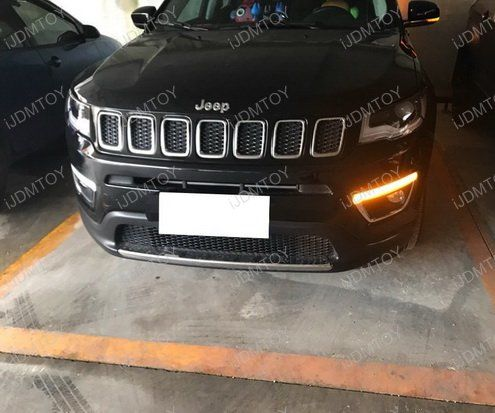 Jeep Compass Switchback LED DRL Turn Signals Install Guide