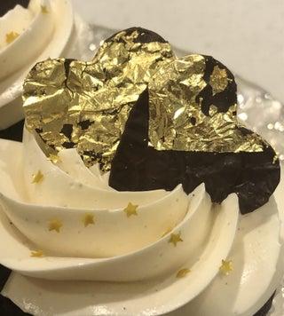 金属巧克力装饰用锡箔和金叶