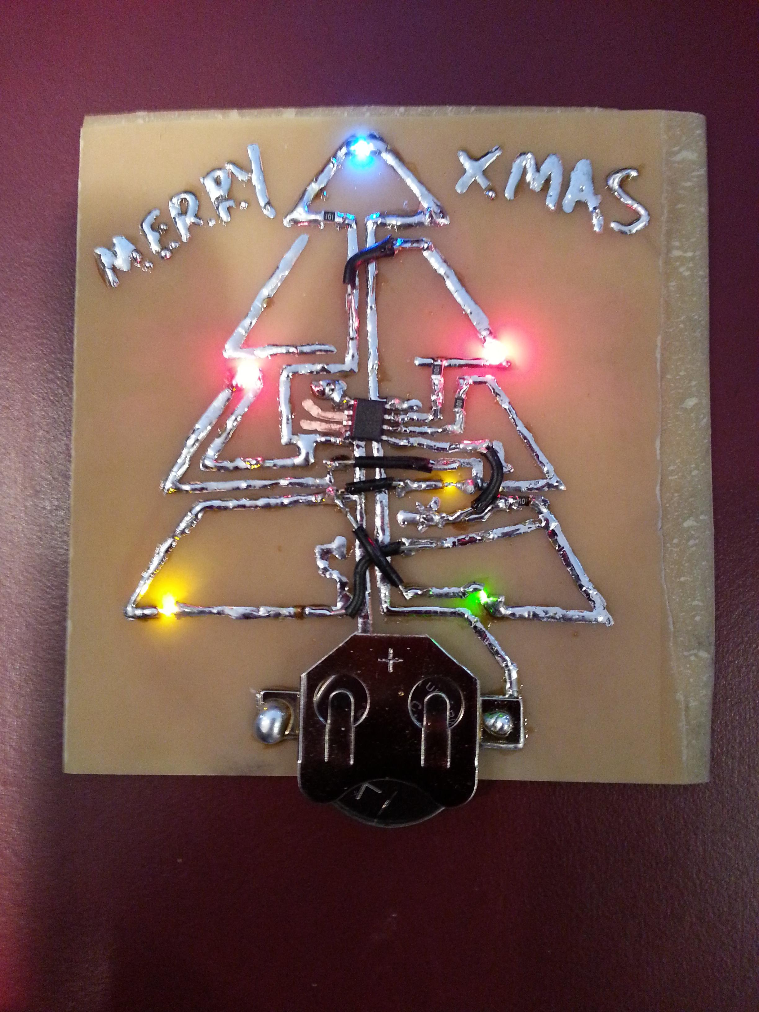 Christmas Tree PCB