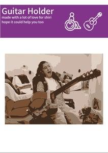 Wheelchair Guitar Holder - Fixperts