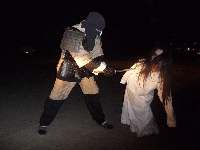 Cardboard Samurai Armor That Looks Authentic