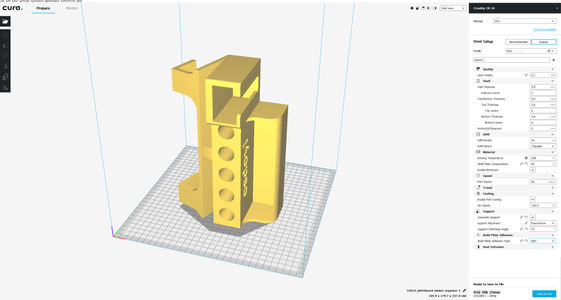 3D Print Settings, Orientation and the Files