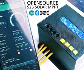 1kW Arduino MPPT Solar Charge Controller (ESP32 + WiFi)