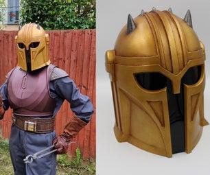 3D Printed Armor for the Armorer (Mandalorian) Cosplay Tutorial