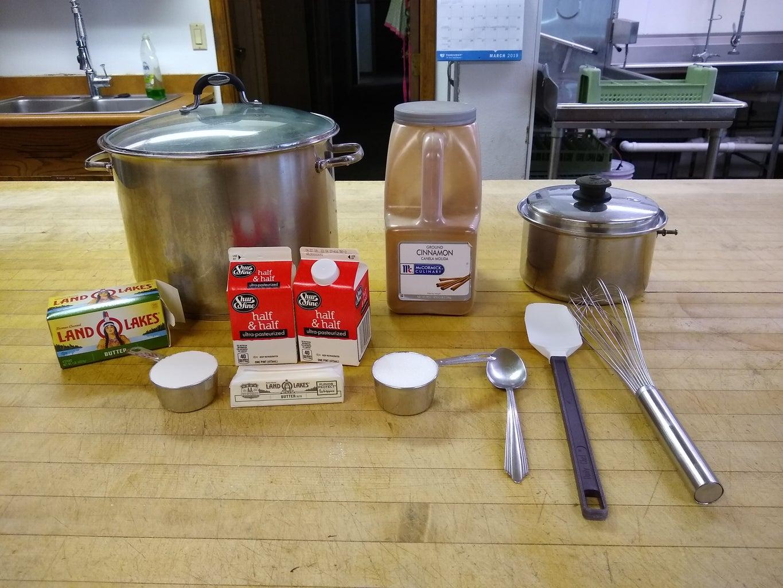 Step 1: Ingredient and Tools