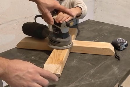 Woodworking - Sanding All Parts