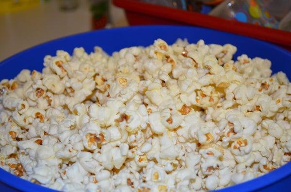 Make Popcorn on the Stove!