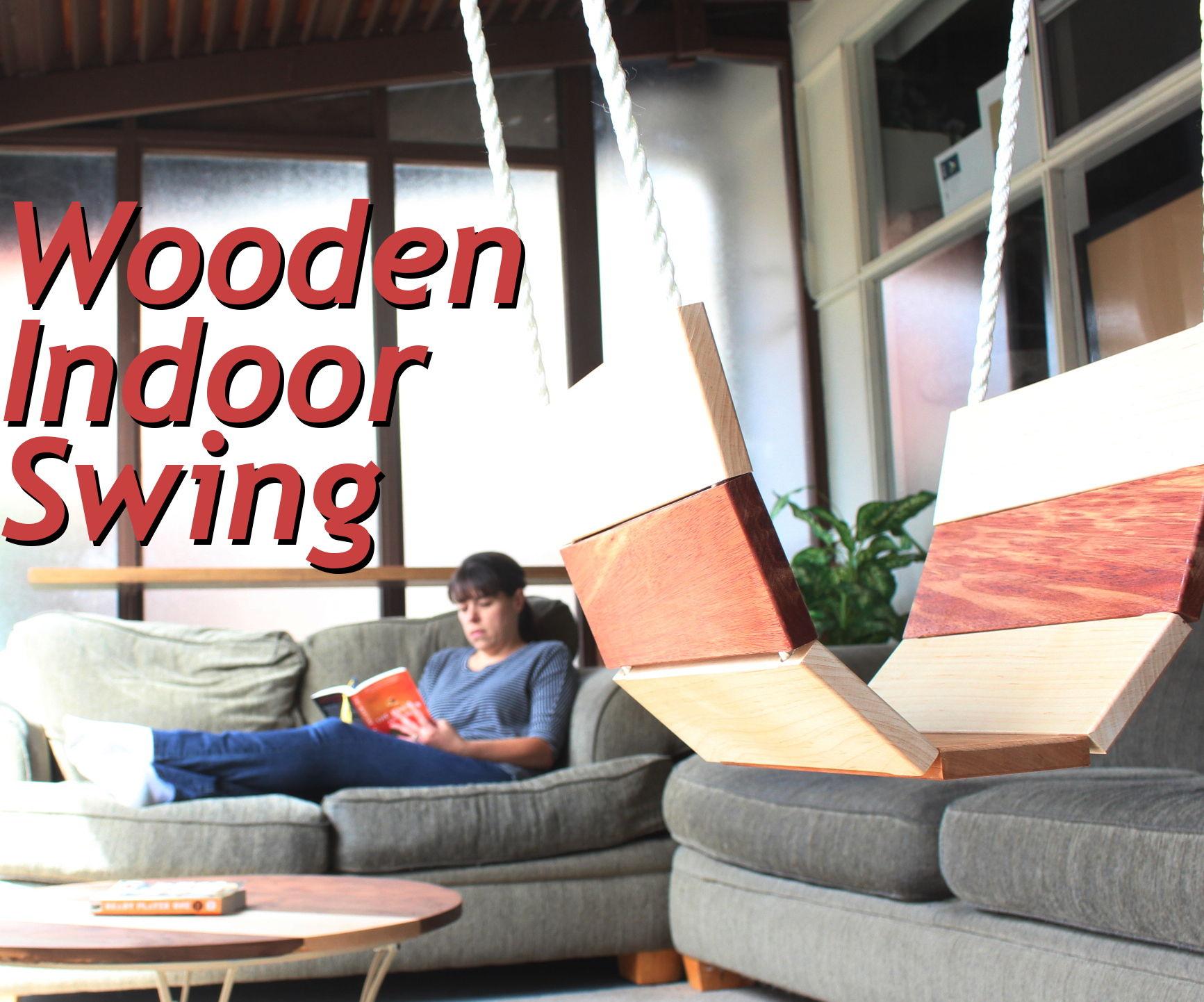Wooden Indoor Swing