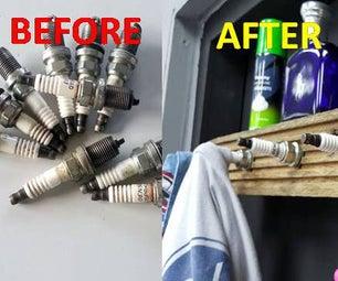 Spark Plug Shelf & Hanger