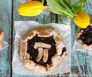 Gluten Free Triple Berry Galette Pi