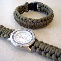 Paracord Bracelet and Watch Band