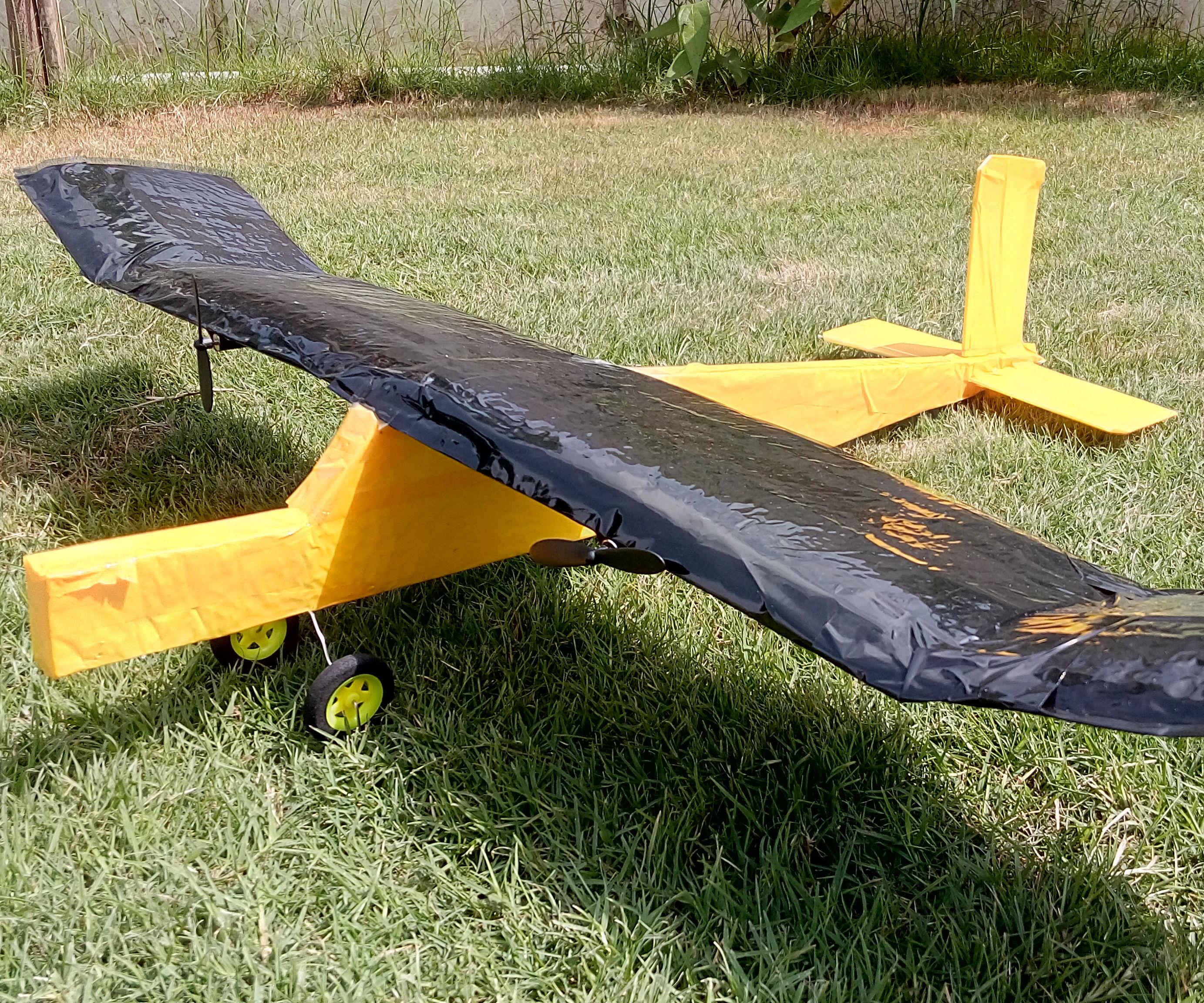 Bluetooth Controlled Rc Plane(Crashproof)