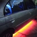 diy cheap asian style car underbody lights
