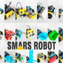 How to Build SMARS Robot - Arduino Smart Robot Tank Bluetooth