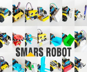 How to Build SMARS Robot - Arduino Smart Robot Tank Bluetooth