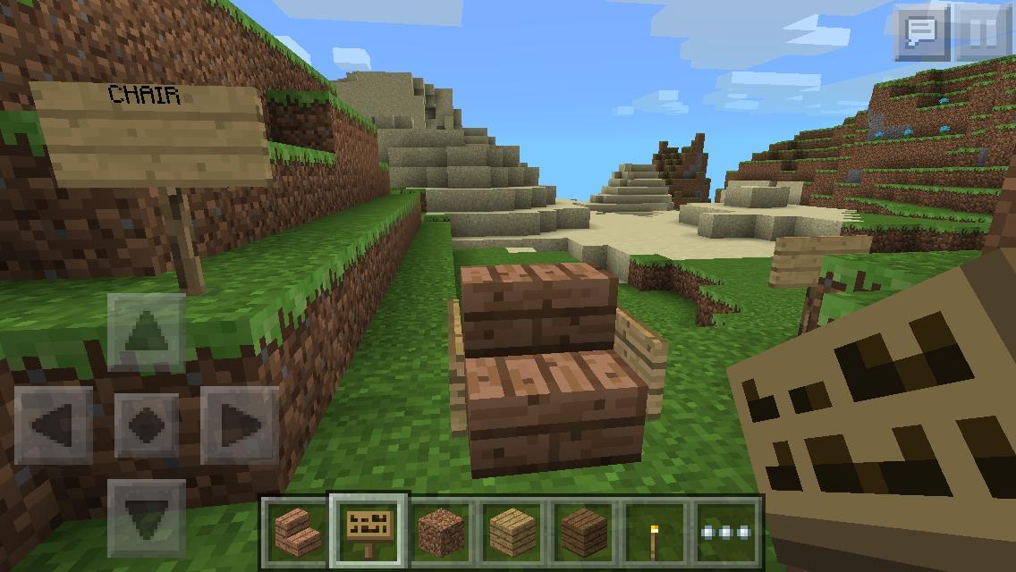Minecraft Chair