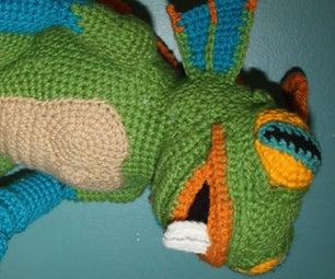 Murky (the Murloc) Crochet Doll