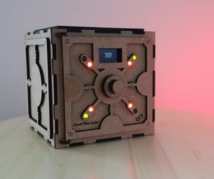 Crack the Code Game, Arduino Based Puzzle Box