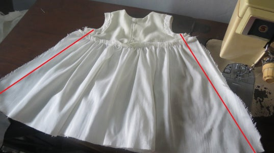 Attach Bodice and the Skirt..
