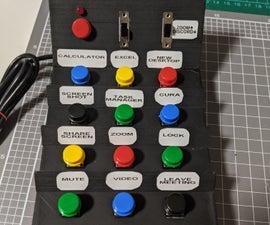 3D Printed Arduino Macro Keyboard