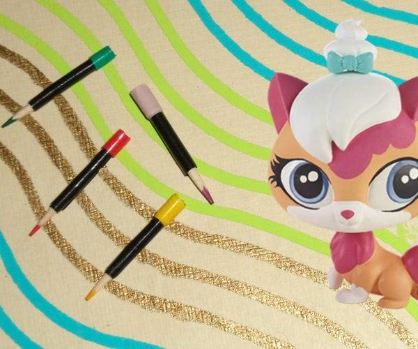 DIY Mini Mac Eyeliner Pencils Makeup