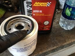 Drain the Oil, Change Out the Oil Filter.
