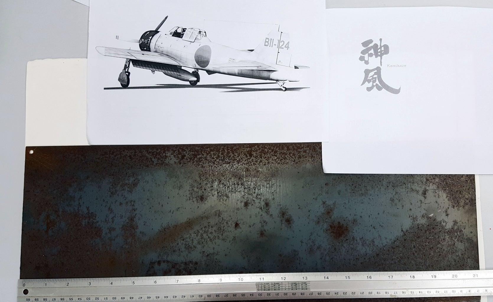 Draw the A6M Zero