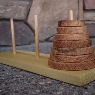 How to Build the Tower of Hanoi - Two Lads With Their Grandad.