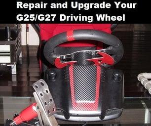 Repair and Upgrade a Logitech G25/G27 Wheel