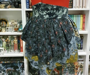 How to Sew A Spooky Halloween Apron