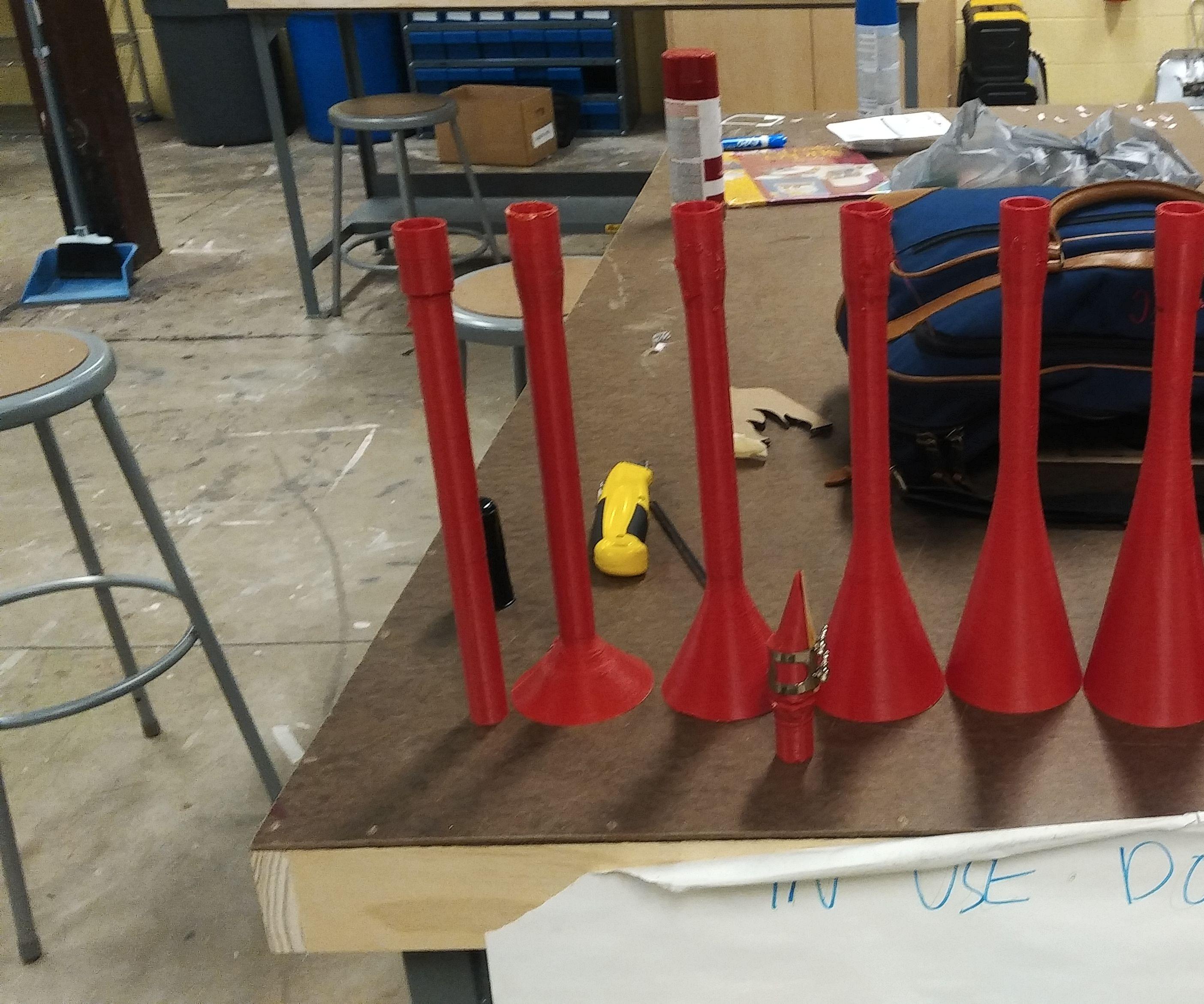 Sound - Tube to Cone Comparison - 3D Printed