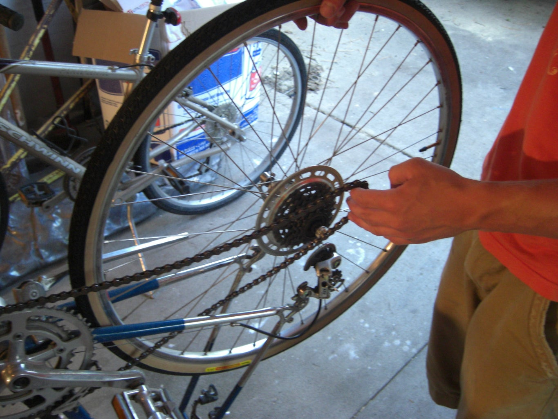 Reinstall Bike Tire