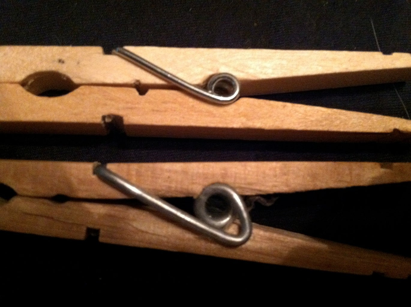 RE-ENGINEERING CLOTHES PINS