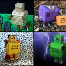 DIY Instructables Robot Halloween Papercrafts