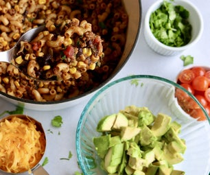 Taco Mac | Lazy One Pot Meal | Easy Recipe