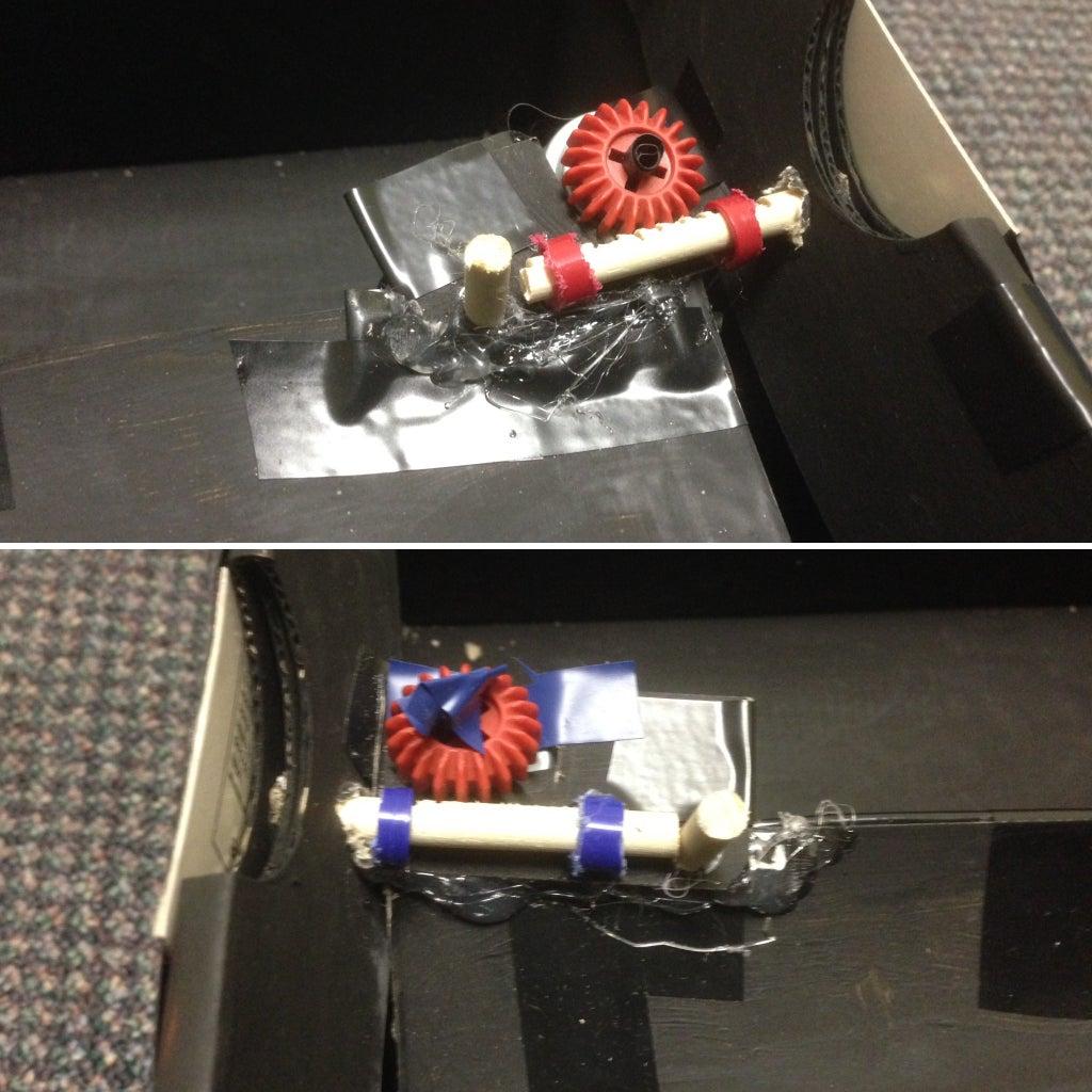 Install Lock Mechanism