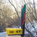 Global Warming Ski Project (Mailbox)