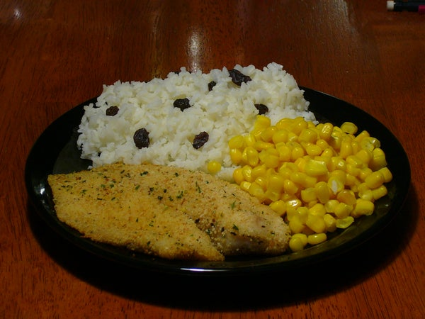 [Collegiate Meals] Breaded Tilapia