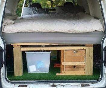Mitsubishi Express Van Into Budget Camper