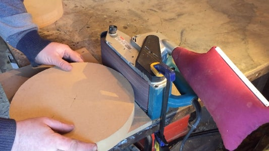 Cutting the Seat.
