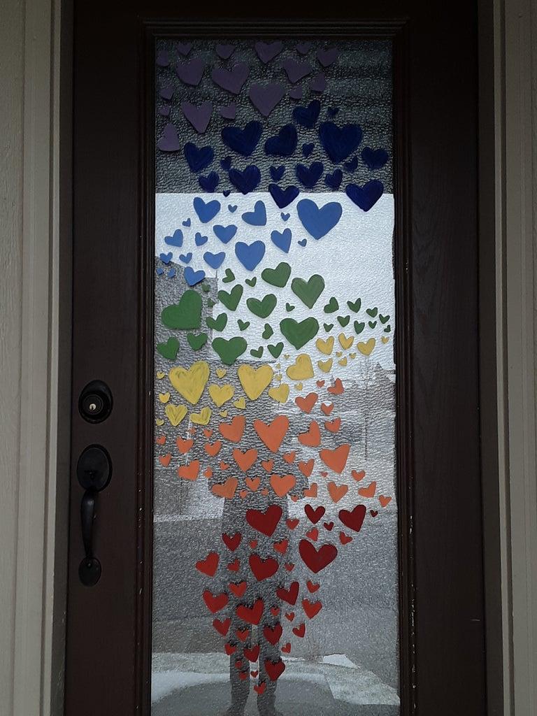 Heartfelt Door ( a Heart Project)
