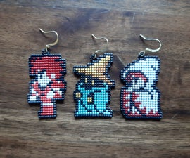 Beaded Pixel Art Jewelry