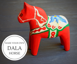 Dala Horse Carving in 5 Steps I Easy Wood Carving for Beginners