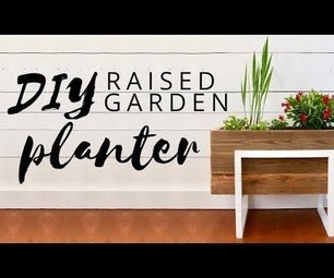 DIY Raised Planter Box